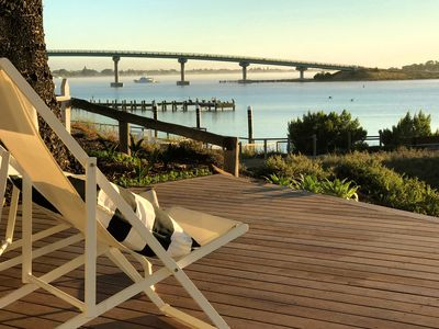 Photo for Mid-week winter deal - boutique waterfront accommodation for 2 couples