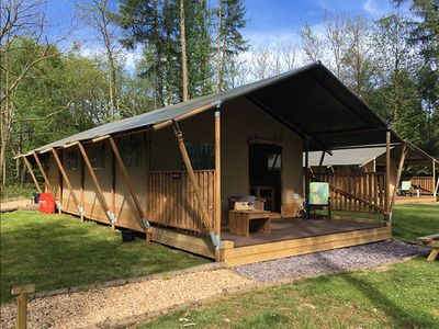 Photo for Worth Forest Glamping - Mulberry safari tent sleeping 6 people