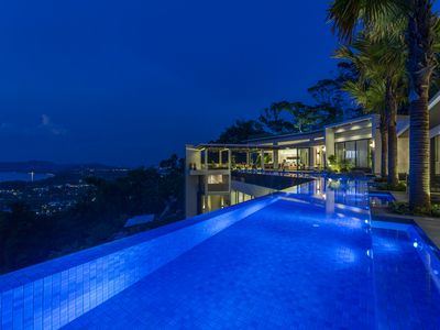 Photo for Villa Zavier: Luxury Redefined With Amazing Sea View at Surin Beach Phuket