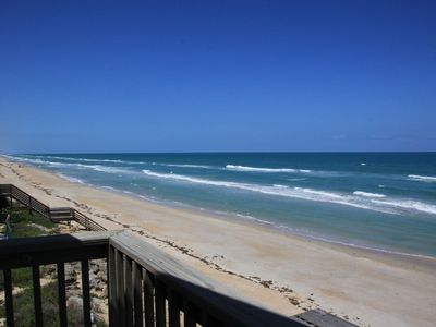 Photo for Wow! Direct Oceanfront Private Beach Home!  4/3 Bright-Beachy-4 Levels of Decks!