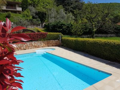 Photo for CASA MINERVA - NEW, CENTRAL AND SUPERLY FURNISHED, IN A GREEN OASIS WITH SWIMMING POOLS AND IDROMASSAG TUB