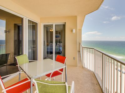 Photo for Oceanfront condo w/shared pool & hot tub and room for eight