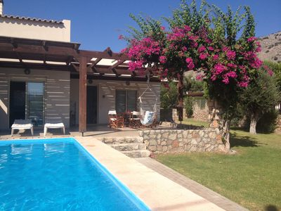 Photo for Holiday Villa with Pool, Gardens & Panoramic Views from the Roof Terrace
