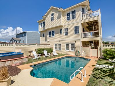 Photo for Selahbration | 2075 ft from the beach | Private Pool, Hot Tub | Kill Devil Hills