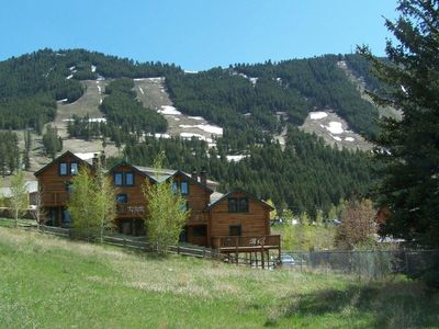 Photo for Jackson Hole Log Townhouse - Your Adventure Basecamp!
