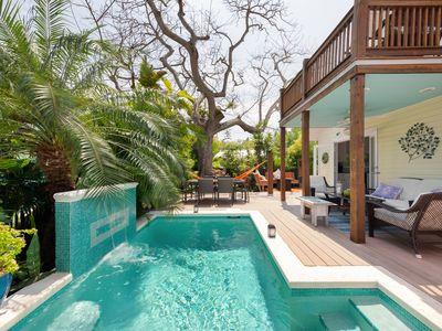 Photo for NEW! ~  CASA DEL RIO ~ Tropical Home w/ Private Pool In Quiet Neighborhood!