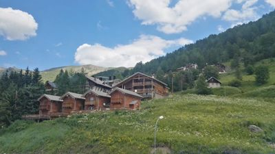 Photo for Apartment at the foot of the slopes at the Foux d'Allos resort center