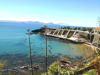 Photo for Delightful one bedroom apartment near the sea