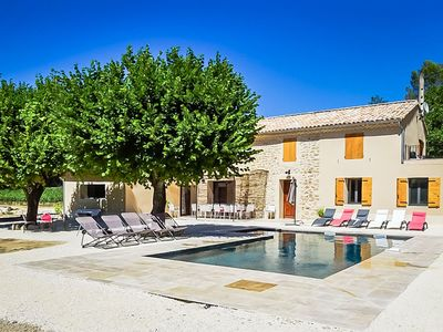 Photo for Holiday house near Vaison-la-Romaine, swimming pool, pets allowed