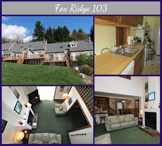 Photo for Fox Ridge 103 - Beautiful Townhouse with Stunning Views of the Ski Slopes!