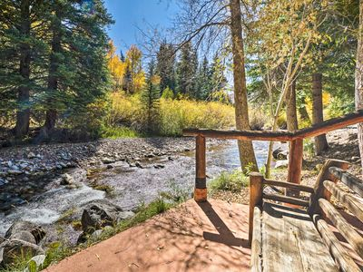 Photo for Charming Creekside Snowmass Escape: 10 Mi to Aspen