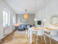 A great apartment in a lovely part of Hamburg.