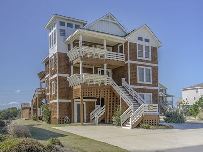 Photo for Easy Walk to the Beach,  8 Master Suites - Private Heated Pool!