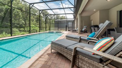 Photo for Private, Luxurious 8-bedroom Villa 10 mins from Disney World - New Construction