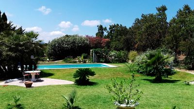 Photo for Beautiful detached villa Dénia, 6 pers, wooded park 4000m², pool, very quiet
