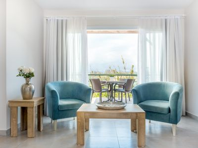 Photo for Athos Apartment with Sea View