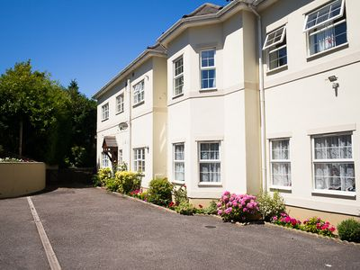 Photo for Regency Court flat 1,  2 bed garden flat nr town and beaches