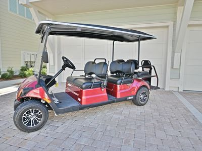 """Photo for """"Sandlot"""" at Prominence - Six Seater Golf Cart & 4 FREE Bikes"""