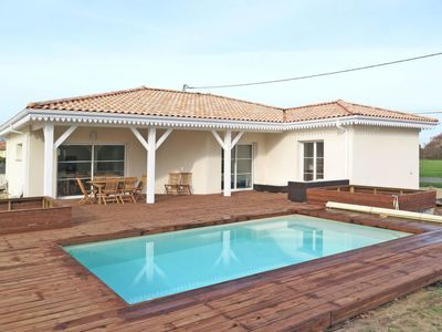Photo for Vacation home Ferienhaus mit Pool (TAI110) in Talais - 8 persons, 4 bedrooms