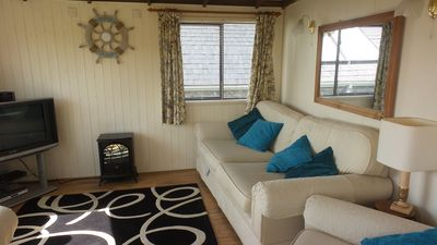 Photo for Nautical themed chalet with sea view 4 minutes from Church Bay Beach Anglesey