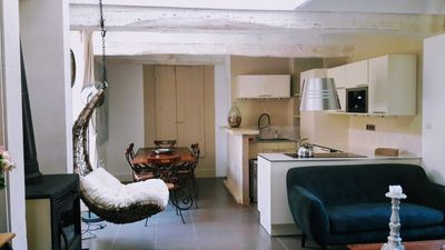 Photo for Comfortable loft in village located in the heart of the vineyard