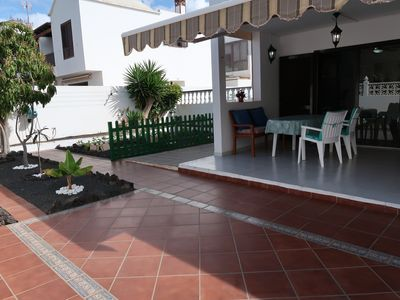 Photo for Casa Luna - comfortable apartment in central & quiet area Playa Honda