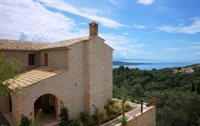 Photo for Sinium Luxury Villa, stunning Sea View villa at Sinies, Corfu