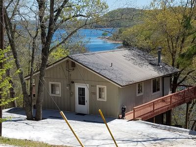 Photo for DUNNDEE'S Lake Cabin - Lakefront with Incredible Lake Views in a Private Setting