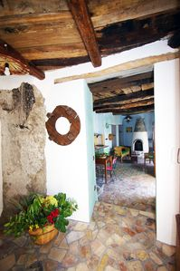 Photo for Holiday House in the charming Old Town of Belmonte Calabro with sea view