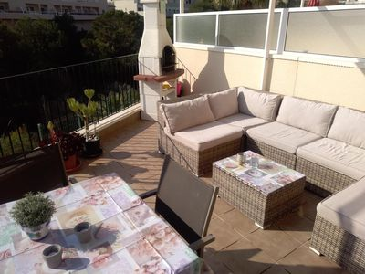 Photo for De Luxe Townhouse with pool, terrace, roof terrace and BBQ