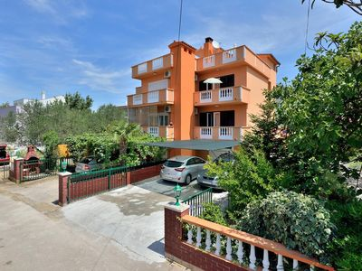 Photo for One bedroom apartment with terrace and sea view Zadar - Diklo, Zadar (A-6268-a)