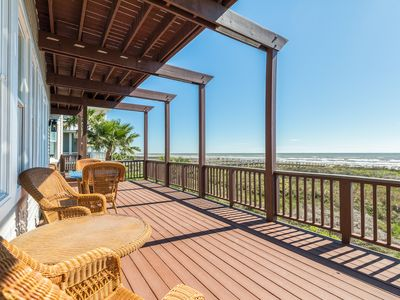 Photo for Luxury waterfront home w/ multiple balconies, fitness room - close to the beach