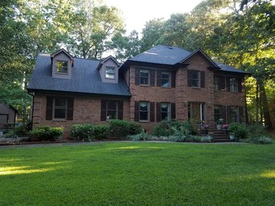 Photo for Gorgeous 4 bedroom with rec room in upscale exclusive Weddington area