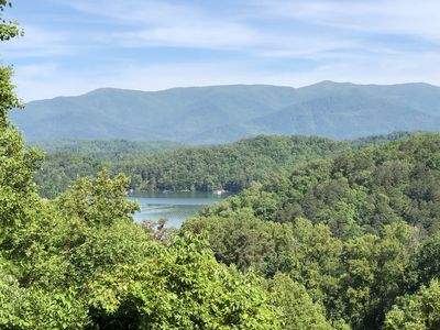 Photo for Secluded Luxury Mountain Cabin! Access to Lake Fontana, and  near Bryson City, NC!