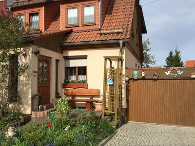 Photo for Apartment with balcony in the Thuringian Forest near the Rennsteig