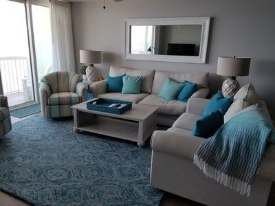 Photo for Oceanfront! Luxury Details!  Stainless/ New Floor/ New Furniture