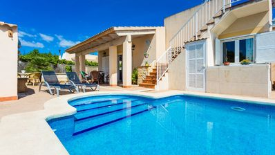 Photo for villa with pool in playa de muro, mallorca