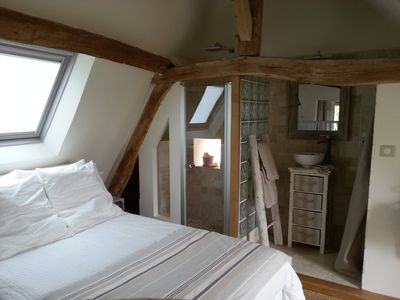 Photo for Charming holiday cottage in Loire Valley with Loire view & SPA - Azay le Rideau