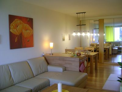 Photo for Comfortable and modern apartment for 4 Personenmit Vollausstattung