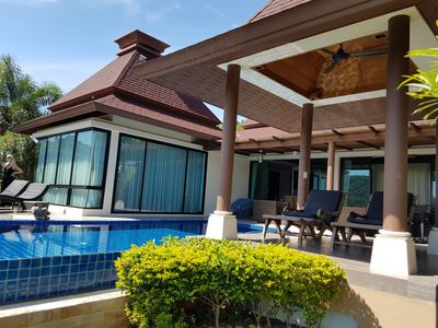 Photo for Beautiful Pool Villa In Balinese Style With Panoramic Views