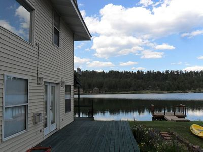 Photo for Lake Cabin, Fishing, Hiking, Snow Skiing & Golfing.