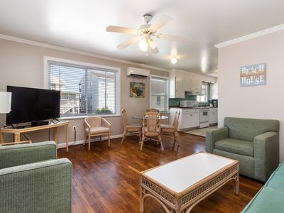 Photo for Family-friendly beach condo w/ furnished balcony - close to the boardwalk!