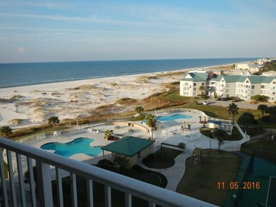 Photo for Spectacular 2 Bedroom Gulf Front Condo! Indoor Pool!
