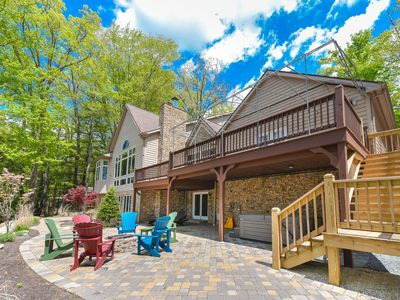 Photo for Lake Shore Legacy- New & Beautiful Lakefront Home in Central Deep Creek Lake