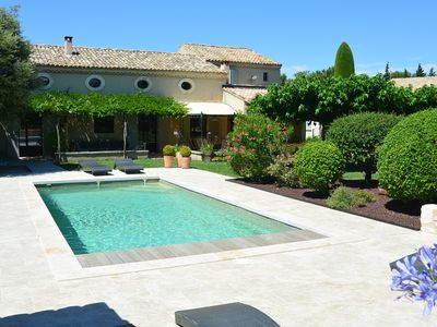 Photo for Provencal house 300m from the center with pool in Eygalières