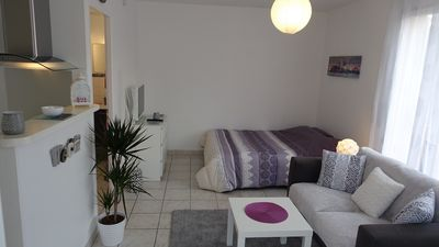 Photo for Studio cozy and quiet with NEW TERRACE between Bordeaux and the ocean