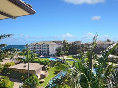 Waipouil Beach Resort Penthouse Exquisite Ocean & Pool View Condo!