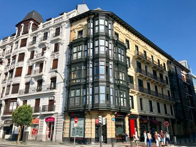 Photo for Very central apartment in Bilbao a few meters from Gran Vía, Campos Theater, E-BI-752.