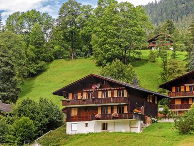 Photo for Apartment Chalet Blaugletscher in Grindelwald - 4 persons, 2 bedrooms