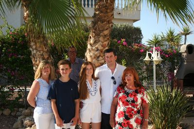 Our family welcome you to our villa